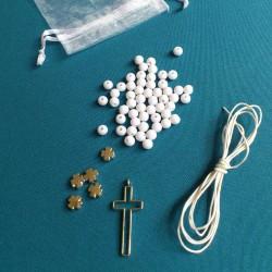 DIY - Kit chapelets blanc...