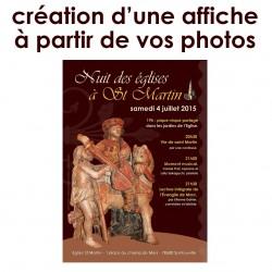 Affiche avec votre image +...