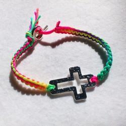 DIY - Bracelet croix,...